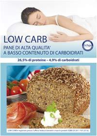 farina con meno carboidrati